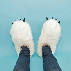 Slippers that heat up when you plug them into your USB port: