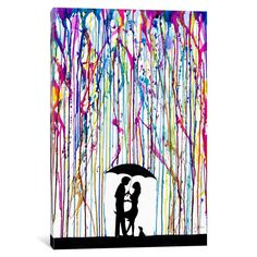 iCanvas Two Step by Marc Allante Canvas Print