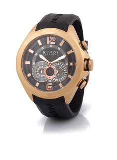 Rose Gold/Black Chrono - Shop | Glamhouse