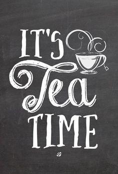 tea time printables - Cerca con Google