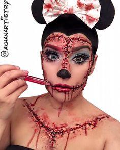 Makeup artist Frankensteins herself into every Disney princess — and every villain | Revelist