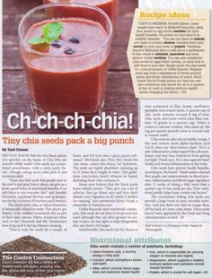 Chia Seeds. -- egg substitute