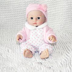 NPK DOLL Lovely 8 Inch Unisex Full Body Siliconel Handmade Lifelike Baby Dolls Cheap Kids Gift-in Dolls from Toys & Hobbies on Aliexpress.com | Alibaba Group