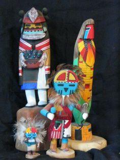 Native American Kachina Dolls