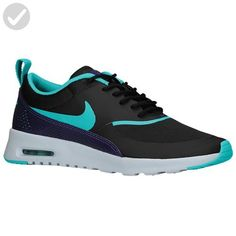 Nike Womens Air Max THEA PRM Running Trainers 616723 Sneakers Shoes (uk 7 us 9.5 eu 41, black dusty cactus pure platinum court purple 035) - All about women (*Amazon Partner-Link)