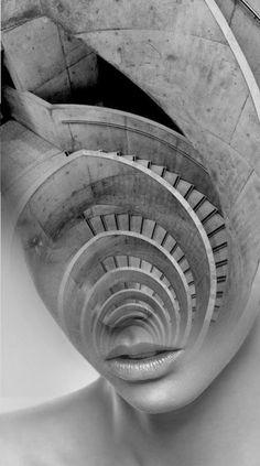 Art by Antonio Mora - labyrinth