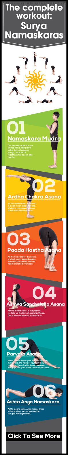The Complete Workout: Surya Namaskaras Best workout for the entire body!