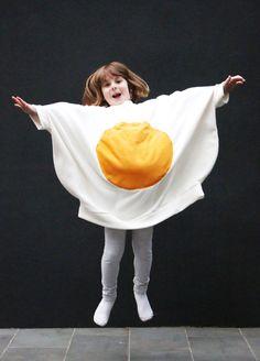 How to Make a Fried Egg Costume - Mypoppet.com.au
