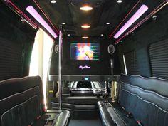 Mercedes Benz Limousine CruiserParty Bus Interior Limoso - Mercedes benz limo bus