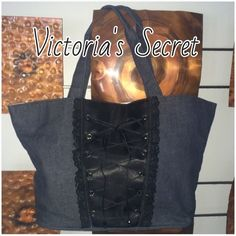 2 DAY SALEVictoria's  Secret -Retired  Tote Like New, used once. No flaws with's a couple of faint unnoticeable marks on the interior. Victoria's Secret Bags Totes