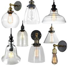 Vintage Industrial Pendant Lighting E27 Edison Ceiling Lamp Wall ...