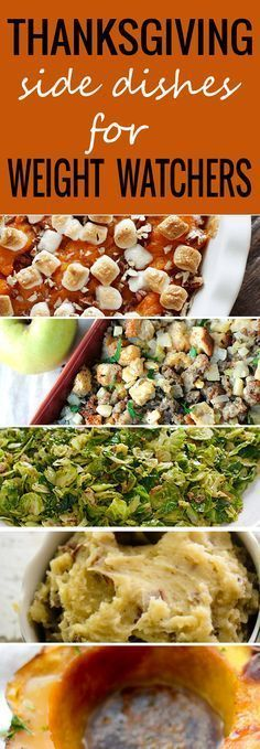Thanksgiving Side Dishes for Weight Watchers