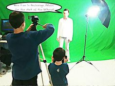 Teaching is Elementary: Making videos using a green screen