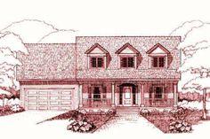 House Plan 79-221, 1718 square feet
