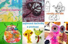 výtvarné náměty a návody na tvoření — výtvarné návody a postupy na tvoření
