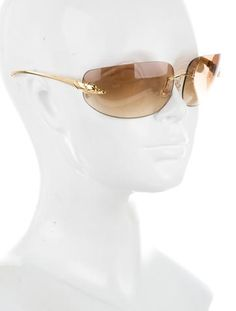 ecd878cd3be7 Panthère Rimless Sunglasses. Cartier PantherLensesJr