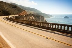 Let's drive to the west coast! Pacific Coast Highway, California Top ten American road trips