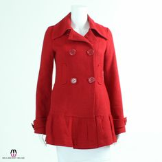 Tulle Peacoat - Extra Small