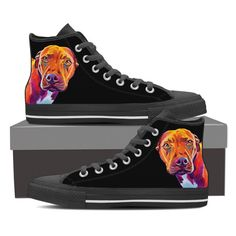 Pit Bull Emma Women High Top Shoes - Black