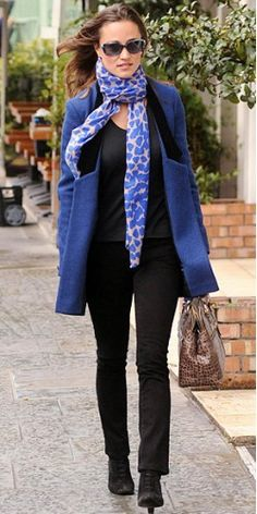 Fall style from Pippa Middleton