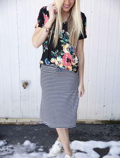 Kourtney Midi Skirt