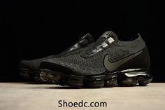 more photos d7ce5 c750b New Nike Air VaporMax 2018 Flyknit Cool Black Women Men