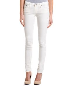 AG Jeans The Legging Ecru Corduroy Super Skinny Legging is on Rue. Shop it now.