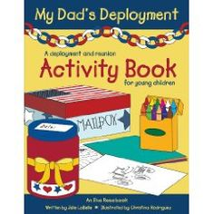 My Dad's Deployment Activity Book ...+ care package ideas