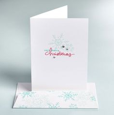 Endless Wishes Clean Simple Card Look at this sweet snowflake stamp set   Stampin Up! Endless Wishes Stamp Set