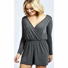 boohoo Aveline Wrap Over Playsuit - charcoal azz40935 Perfect for daytime shopping or evening partying, the playsuit will take you stylishly through AW. Mesh inserts and peplum frills are worked into this staple style saviour, and lace detailing and anim http://www.comparestoreprices.co.uk/womens-clothes/boohoo-aveline-wrap-over-playsuit--charcoal-azz40935.asp