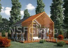 Дом-оранжерея: проект «Марк»
