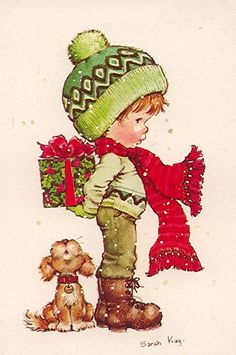 FFFFOUND! | by Sarah Kay | a CHRISTMAS carol | Pinterest