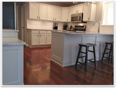 A Delightful Design: Thornapple kitchen: before and after