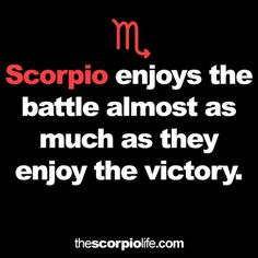 Scorpio personality insights and astrology ♏ Scorpio Sun Sign, Taurus And Scorpio, Scorpio Zodiac Facts, Scorpio Traits, Scorpio Quotes, My Zodiac Sign, Zodiac Quotes, Scorpio Woman, Scorpio Characteristics
