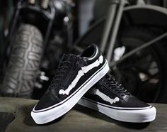 """#Blends X #Vans Vault Old Skool ZIP LX """"BONES"""" #sneakers"""