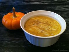 I love creamy pumpkin soup, and it's the perfect season for it! Here's a paleo and dairy free version of a cream of pumpkin soup that you can make with pumpkin puree! Instructions 1. Heat up a large saucepan and start melting your butter (or coconut oil if you opted for 100% dairy free version).…