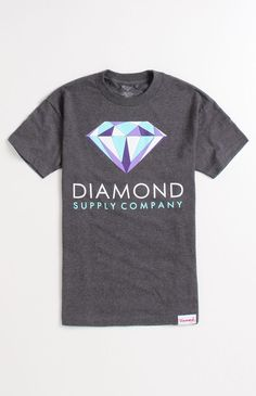 Mens Tee/ Colors T-Shirt by Diamond Supply Co