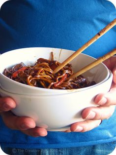 Beef Chow mein - 4 of 4 liked it. One thought it needed more kick. So, maybe I'll add a little crushed red pepper next time.