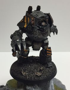 Iron Warriors Contemptor Dreadnought by Giancarlo Ramo