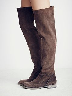Free People Carlisle Suede Over the Knee Boot, $228.00