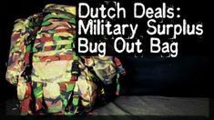 Dutch Deals: Military Surplus Bug Out Bag