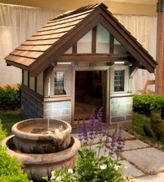 luxury_doghouse --- I need 2 of this for my 2 doggies!