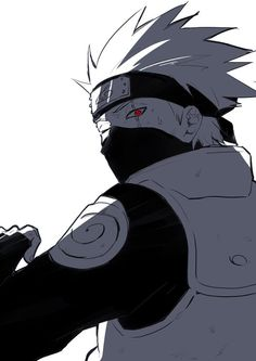 Okay kakashi really dose show more emotion in one eye than Saskue dose with his whole face
