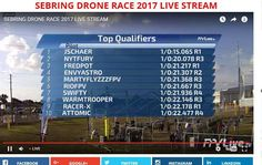 Our own  Martyflyzzz in the top 10 after first round of practice down at the Sebring 2017 race ! #Droneontop  #DroneParts