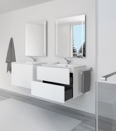 Block Evo #bathroom #furniture collection by COSMIC