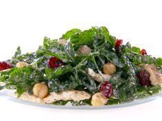 Kale and Hummus Salad recipe from Giada De Laurentiis via Food Network