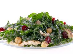 Get this all-star, easy-to-follow Kale and Hummus Salad recipe from Giada De Laurentiis