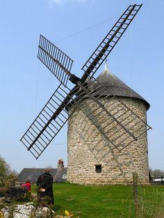 Le moulin de Cherrueix