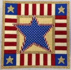 Stars and Stripes by EyeCandy Needleart