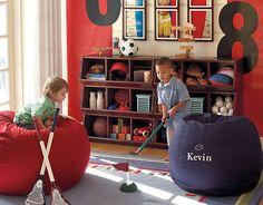 Pottery Barn Kids Sports Playroom